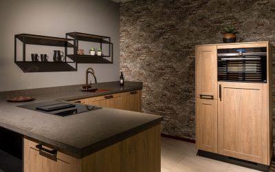 Uitbreiding keuken showroom